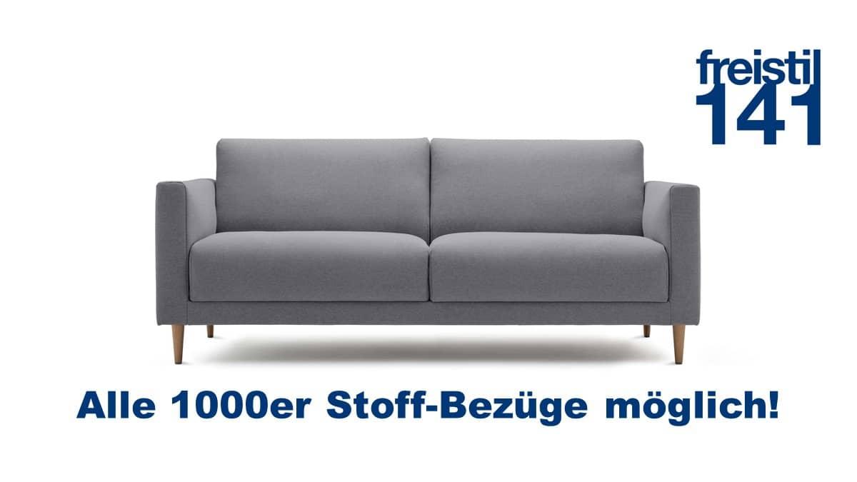 freistil 141 Sofabank in der Breite 194 cm in allen 1000er Stoffen möglich