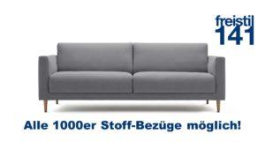 freistil 141 Sofabank in der Breite 214 cm in allen 1000er Stoffen
