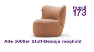 freistil 173er Sessel im 5000er Stoff-Bezug