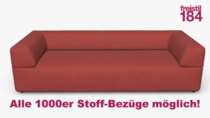 freistil 184 Sofabank Alle 1000er Stoff-Bezüge möglich
