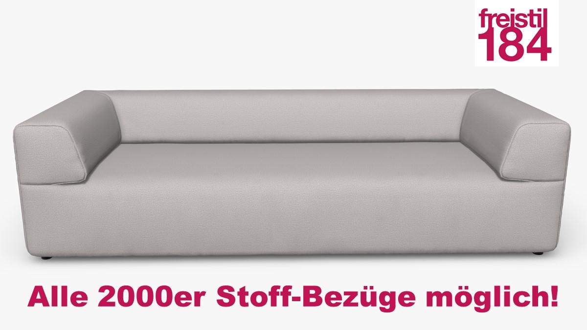 freistil 184 Sofabank Alle 2000er Stoff-Bezüge möglich