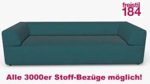 freistil 184 Sofabank Alle 3000er Stoff-Bezüge möglich