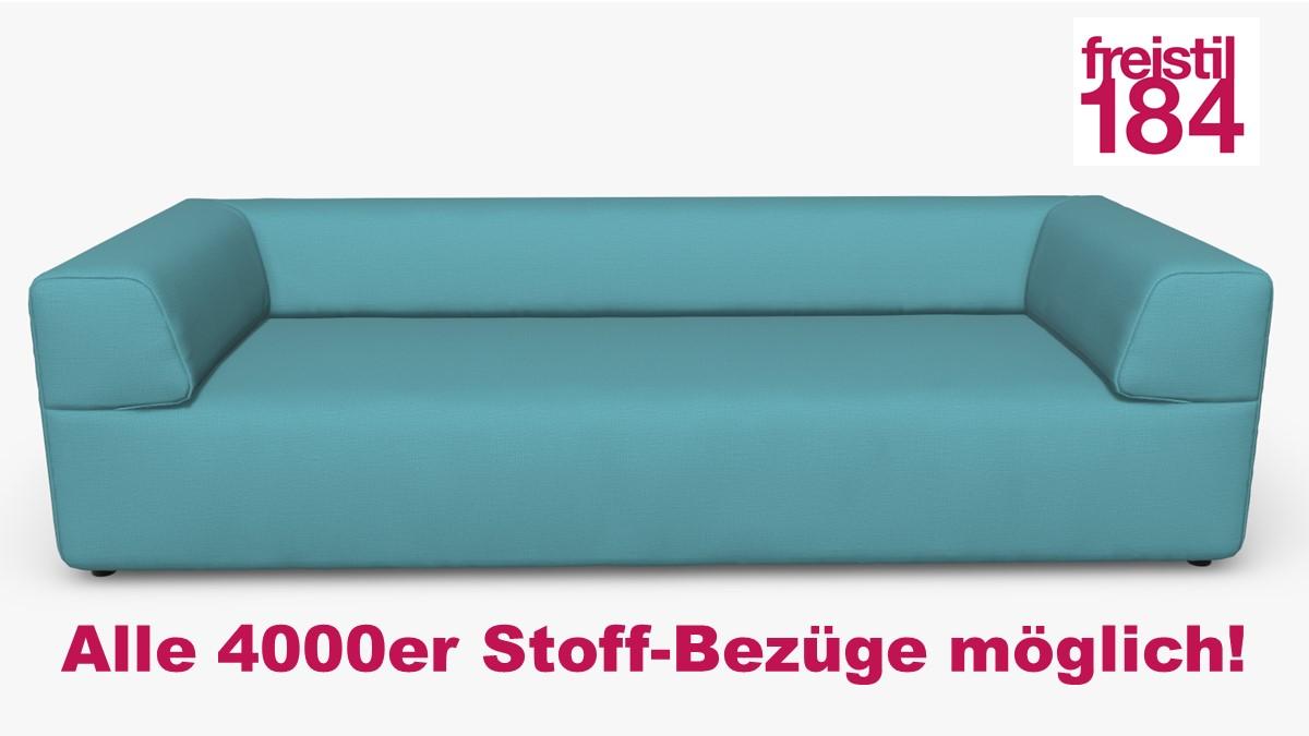 freistil 184 Sofabank Alle 4000er Stoff-Bezüge möglich