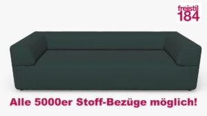 freistil 184 Sofabank Alle 5000er Stoff-Bezüge möglich