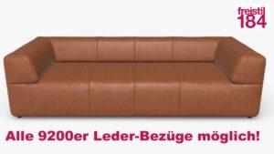 freistil 184 Sofabank Alle 9200er Leder-Bezüge möglich