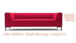 freistil 185 Rolf Benz Sofabank, 223 cm jetzt online konfigurieren