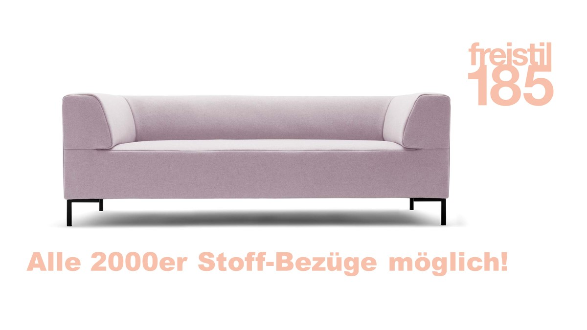 freistil 185 Sofabank in der Breite 203 cm jetzt im freistil-Konfigurator selber online gestalten