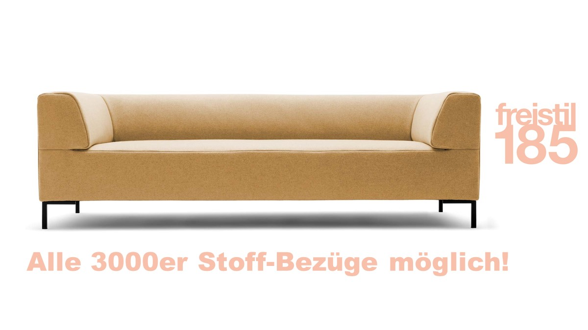 freistil 185 Sofabank in der Breite 223 cm jetzt selber online konfigurieren