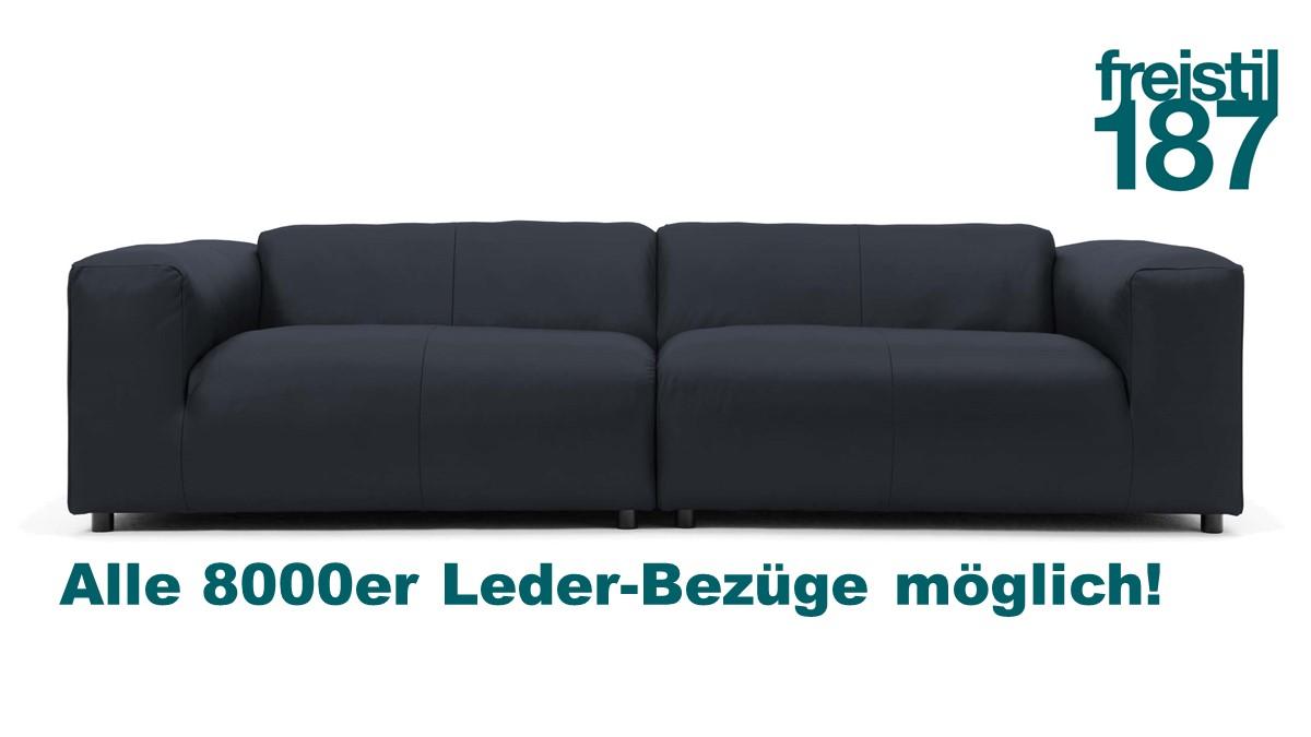 freistil 187 Couch im 8000er Leder konfigurieren