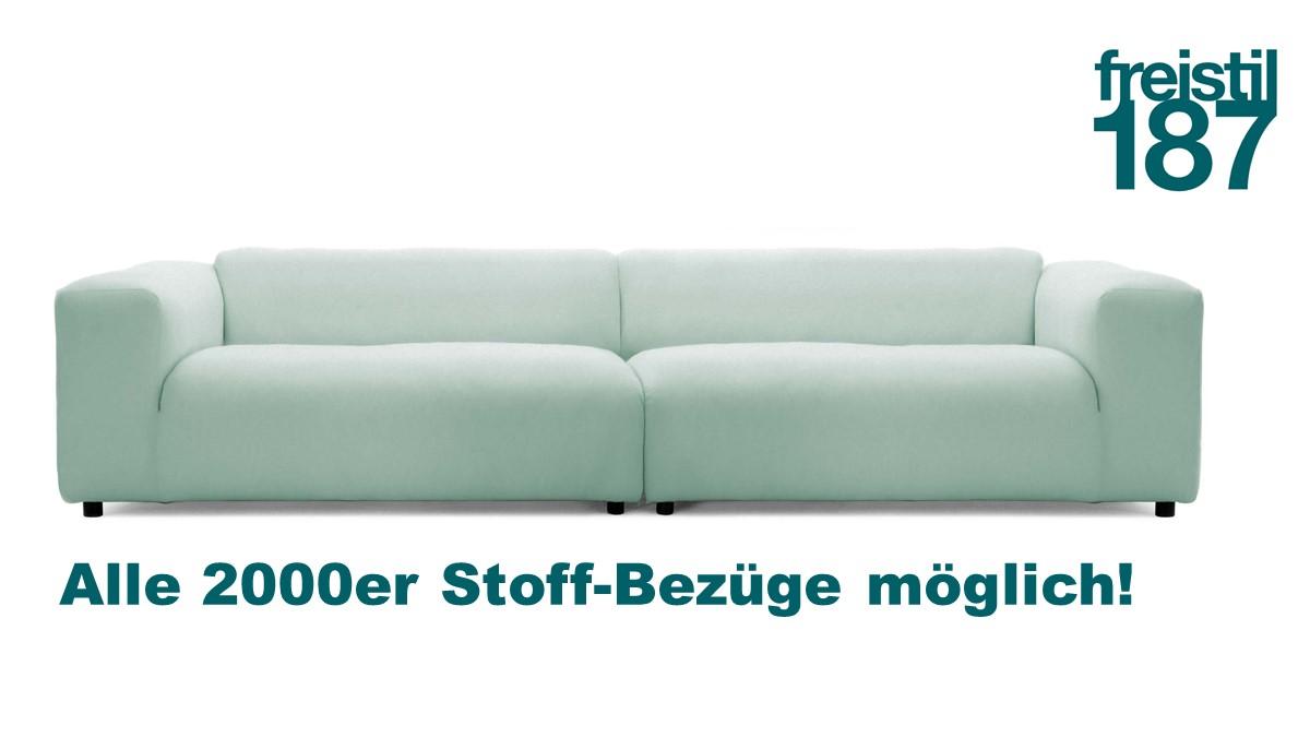 freistil 187 Sofa in allen 2000er Stoffen konfigurierbar