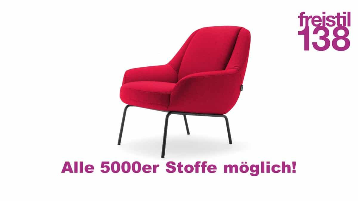 freistil138 Sessel in allen 5000er Stoffen erhältlich