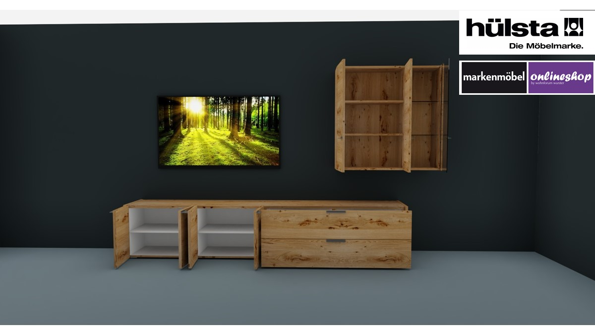 Hulsta Fena Vorzugs Wohnwand 990005 Gunstig Online Bestellen