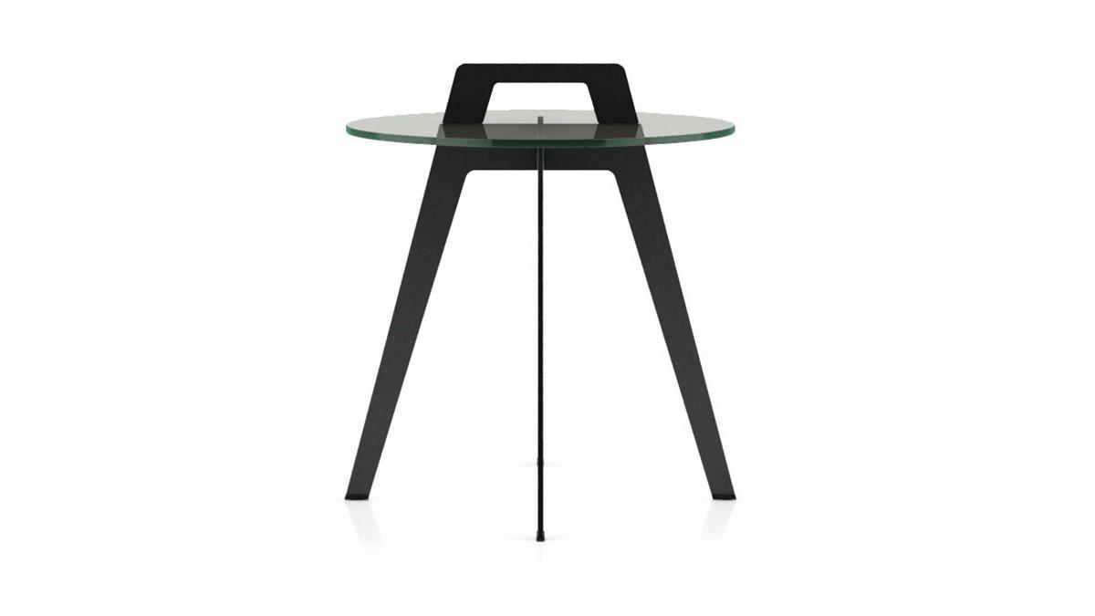hülsta SOLID Beistell-Tisch mit Henkel-Griff