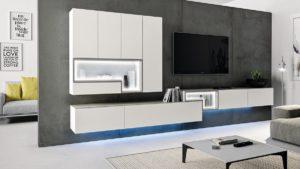 hülsta TETRIM Wohnwand #980011 jetzt im Markenmöbel-Onlineshop konfigurieren