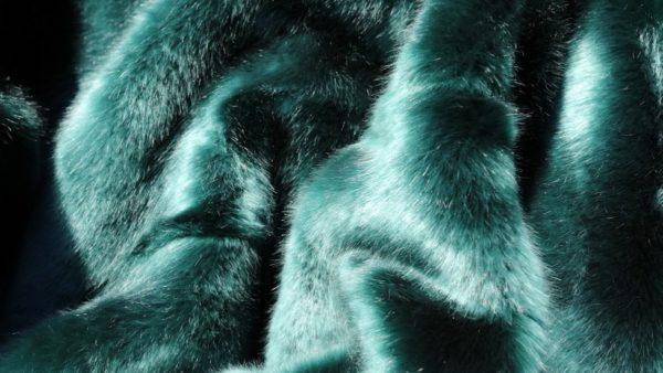 Star Home Textil Webpelz-Decke Zobel in grün