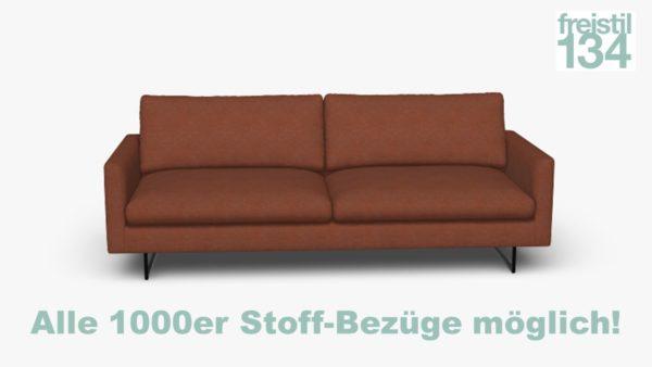 freistil 134 Sofabank in der Breite 242 cm Alle 1000er Stoff-Bezüge möglich!