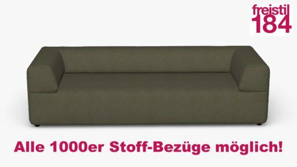 freistil 184 Sofabank in der Breite 232 Alle 1000er Stoff-Bezüge möglich!